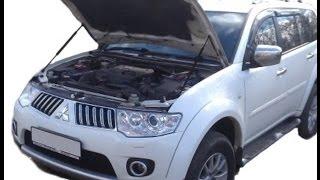 Газовый упор капота Mitsubishi Pajero Sport 2 / L200 (08-15 г.в.)(, 2016-02-05T15:17:52.000Z)