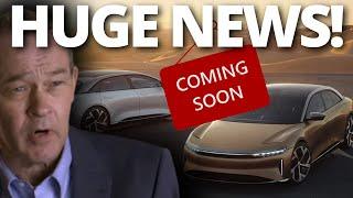 HUGE update on Lucid's motors Vehicle Production!
