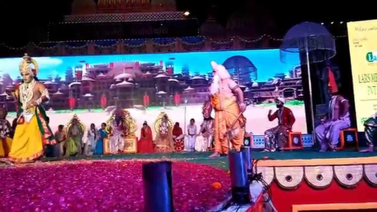 Ramlila Punjabi Bagh, New Delhi 2015 Laxman Parasuram Samwad - YouTube