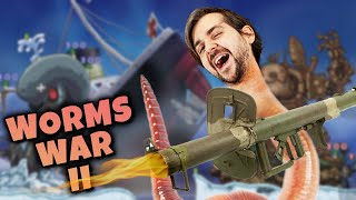 WORMS WAR 2! - Worms w/The Armchair Admirals - 26/10/20
