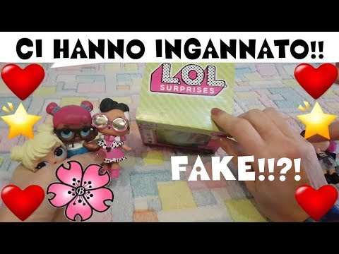 CI HANNO INGANNATO!!! LOL SURPRISE FAKE al posto di ORIGINALE!!  By Lara e Babou!