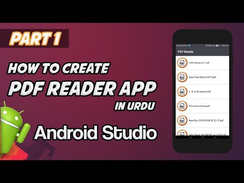 Android Studio Tutorial - How To Create PDF Reader App | Part 1