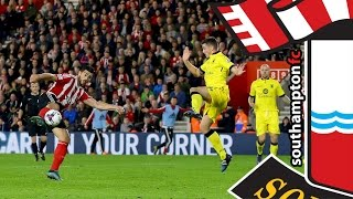 HIGHLIGHTS: Southampton 2-1 Aston Villa (Capital One Cup Round 4)