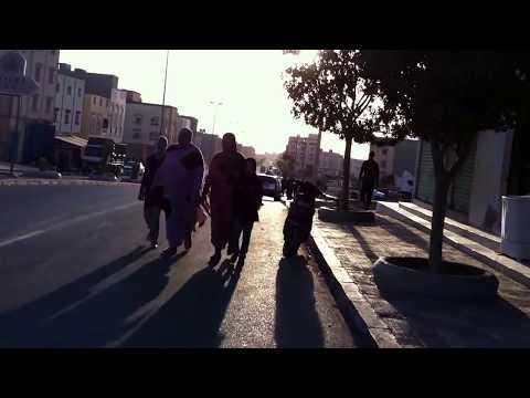 جولة في شارع مدينة  بوجدور Boujdour