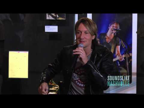Keith Urban Tours Country Music Hall of Fame Exhibit, 'Keith Urban So Far...'