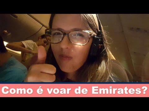 Como é voar de Emirates para Dubai de classe econômica? | Prefiro viajar