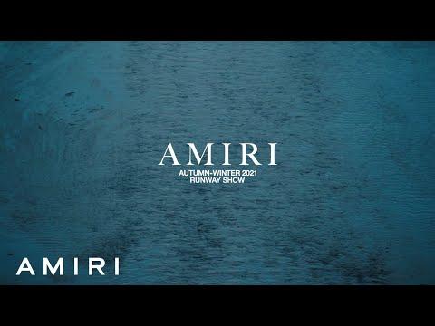 AMIRI AUTUMN-WINTER 2021 RUNWAY SHOW