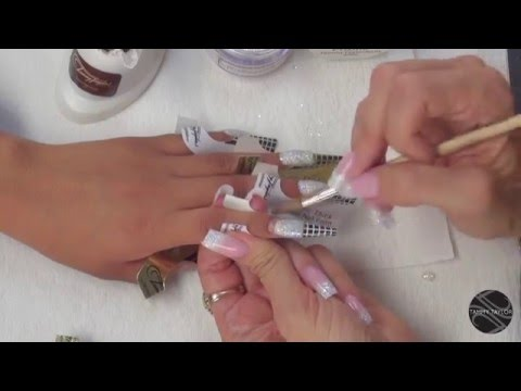 ♡ Tammy Taylor Quinceañera Nails,Match the Dress!
