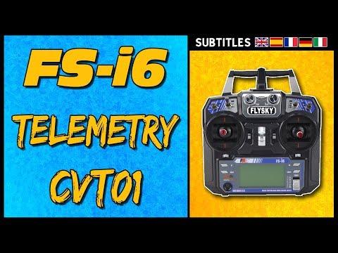 FlySky FSI6 - Telemetry!