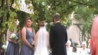Brian and Ashley Heil Wedding in Ashland Oregon on June 20, 2008