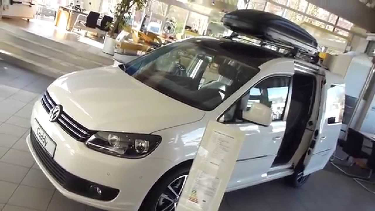 2013 Vw Caddy Edition 30 Trendline Roof Box See Also