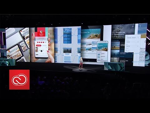 Adobe MAX 2017: Day 1 General Session (Chapter 3) | Adobe Creative Cloud
