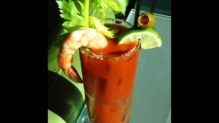Bloody Mary Base Bartender Video