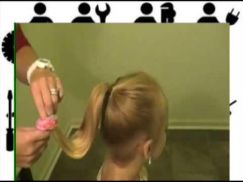 Как сделать прическу диснеевской принцессы