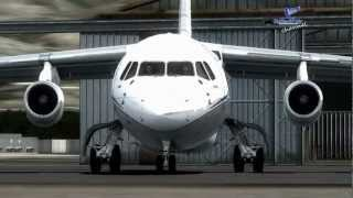 【FSX】✈ QualityWings Ultimate  BAE 146/Avro RJ Collection