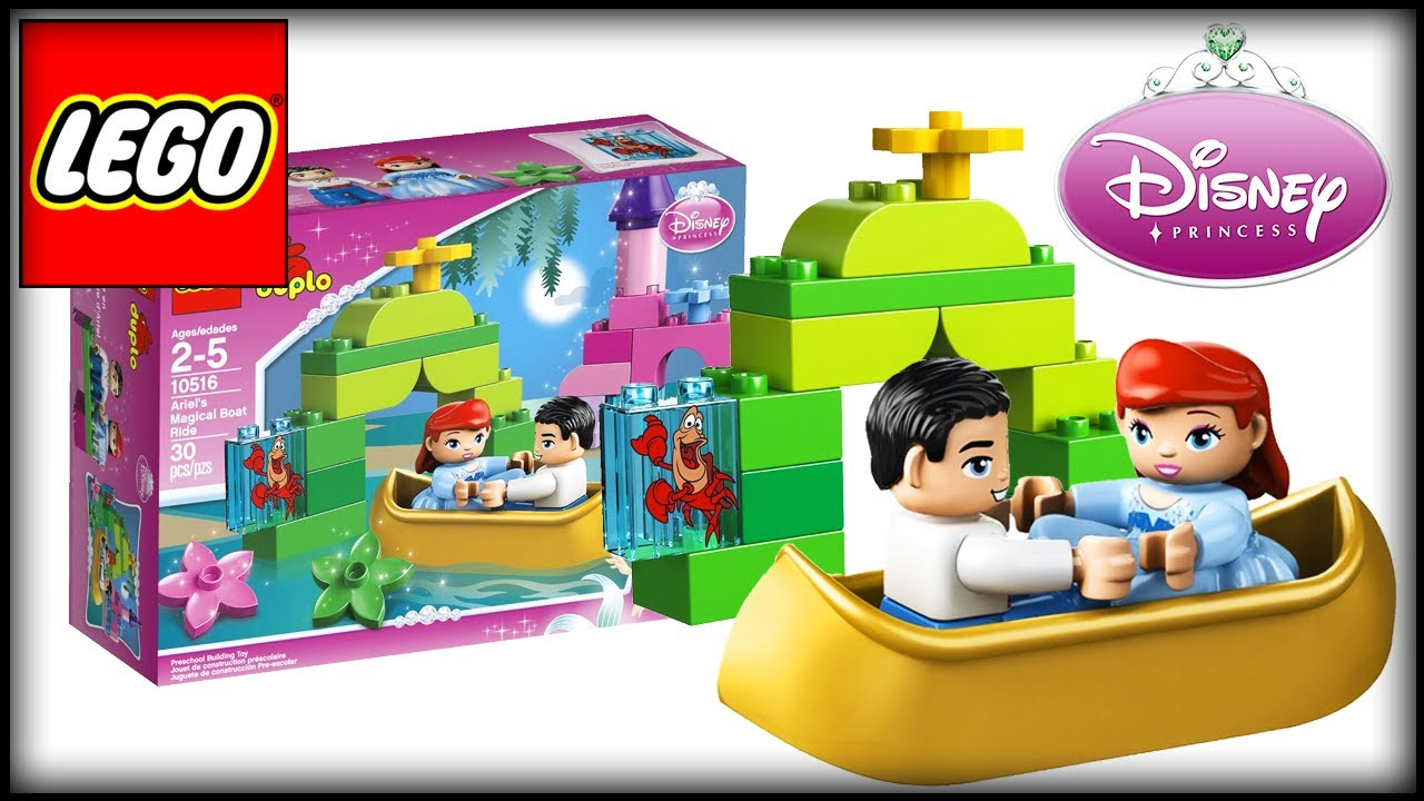 Lego Toys For Girls : Lego disney princess ariel the little mermaid magical boat