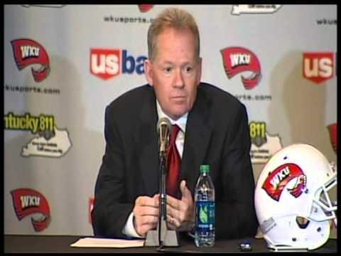 Bobby Petrino WKU Head Football Coach Full Press Conference