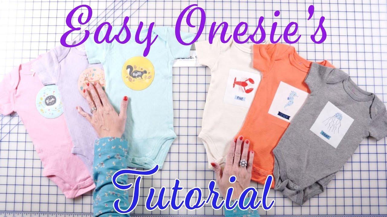 210cee981 Easy DIY Baby Onesies