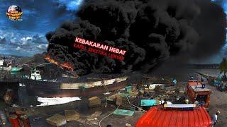 Download Detik-Detik Si Jago Merah Ludeskan 4 Kapal di Dermaga Bea Cukai Batam // Kejadian Tak Terduga 2021