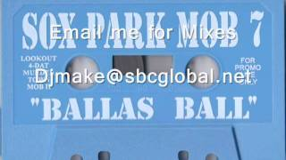 "Sox Park Mob vol 7 ""Baller's Ball"" Chicago Hip Hop Rap Mixtape"