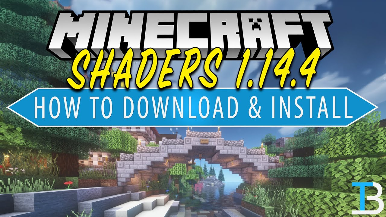 How To Download & Install Shaders in Minecraft 1 14 4