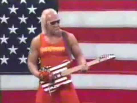 WWE Hulk Hogan Entrance Video Real American - YouTube