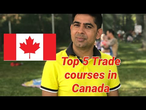 Top 5 In Demand Trade Courses In Canada 2020