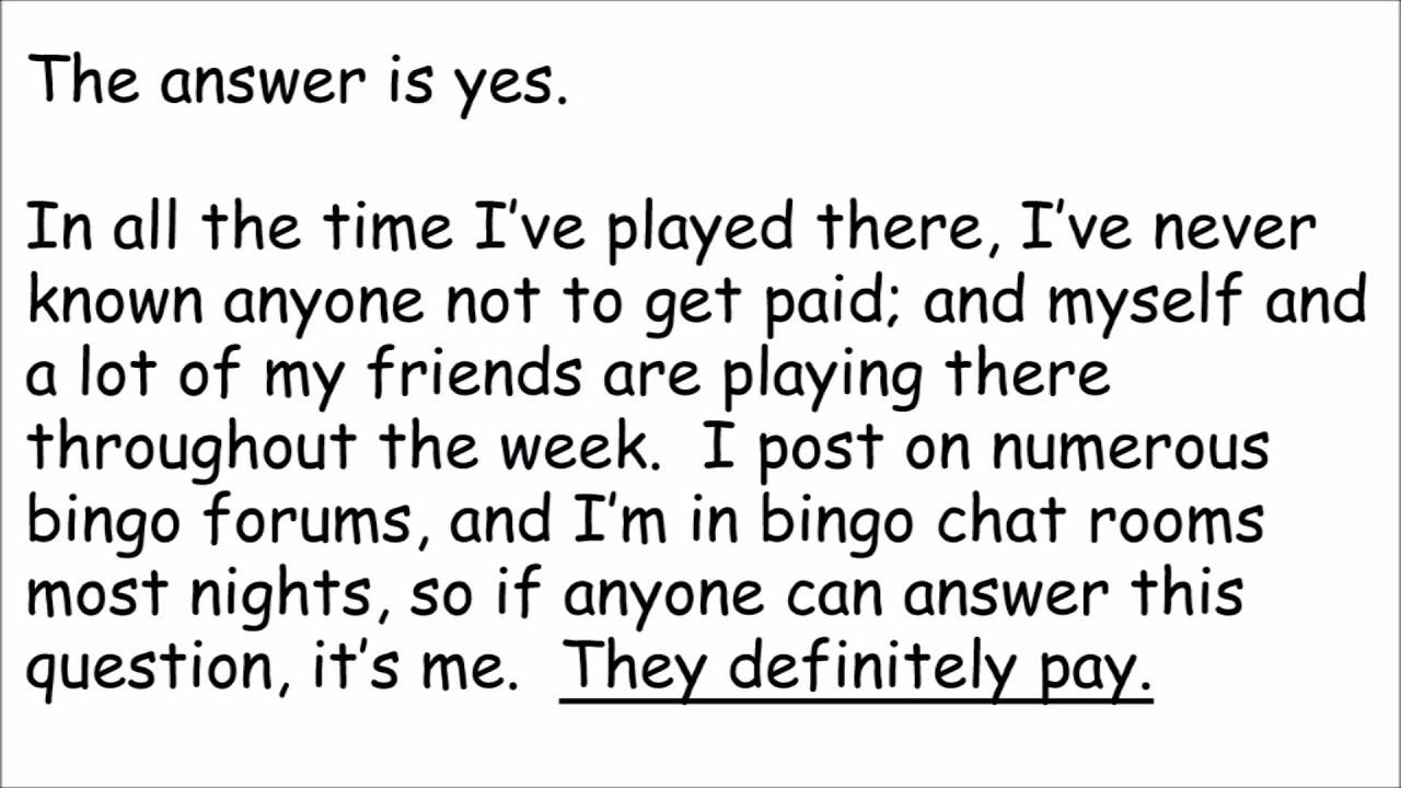Is Bingo Cafe Legit