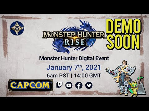 Monster Hunter Rise Demo COMING SOON!! |