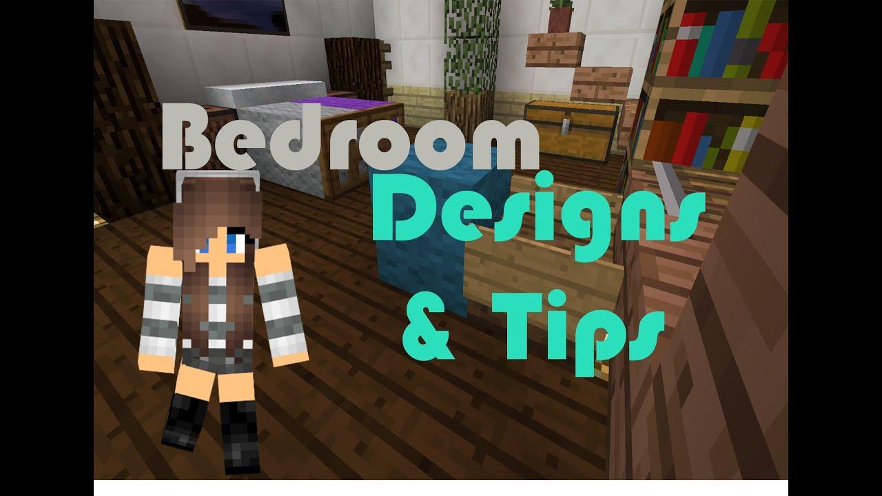 Bedroom Furniture Minecraft minecraft | fancy bedroom designs & tips! (no mods, 1.8!) - youtube