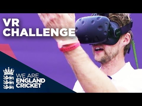 England Players Take on Cricket VR Challenge | Natwest VR Challenge