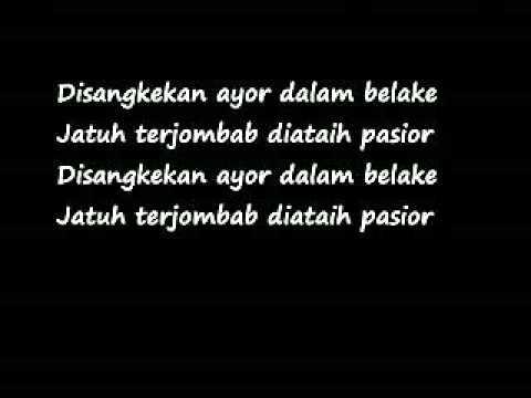 [Official] Lagu Loghat Perak with Lyrics