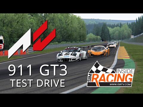 Assetto Corsa Porsche 911 GT3 R 2016 Test Drive at Spa