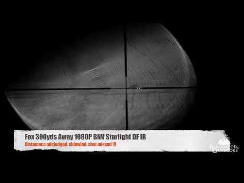 1080P Black Night Vision  Fox Shooting