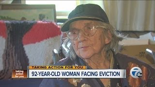 92-year-old woman facing eviction from home in Detroit