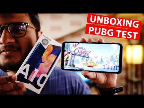 Samsung Galaxy A10 Unboxing & Hand's On Review.