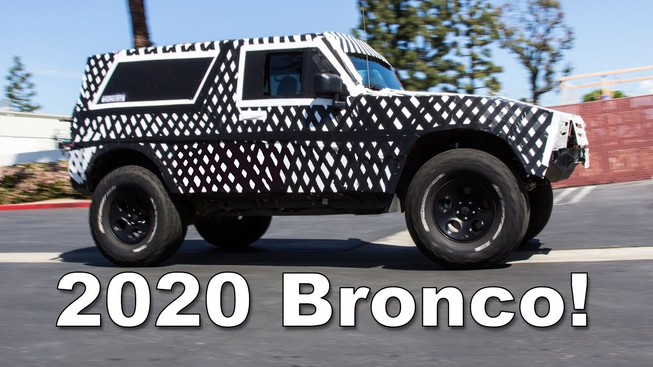 2020 Ford Bronco What You Can Expect Youtube