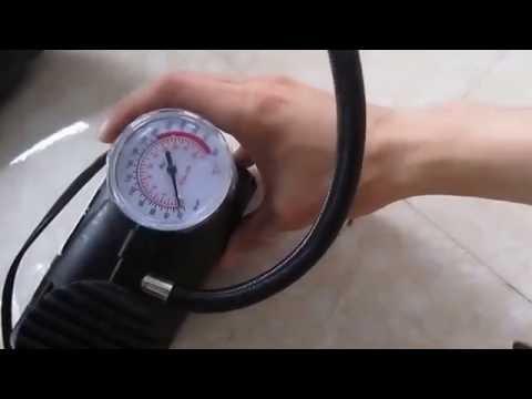 Máy Bơm Hơi Mini 12V để Vừa Cốp Xe Máy 290k 