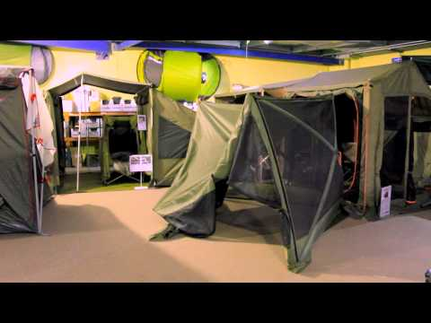 How To Pack Up The New Oztent Screen House & How To Pack Up The New Oztent Screen House - YouTube