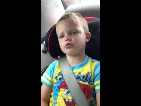 4 year old braydon singing loretta lynn as soon as i pick up the phone