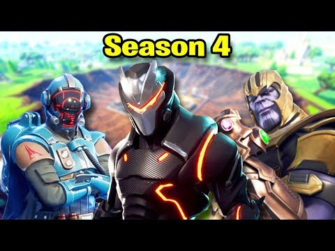 Fortnite SEASON 4 Montage! (Best Moments, Highlights, & Nostalgia)