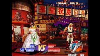 The King Of Fighters 97' - Mai - King - Chizuru Arcade (TAS)