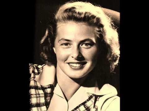 The Most Beautiful Movie Star - Ingrid Bergman - YouTube