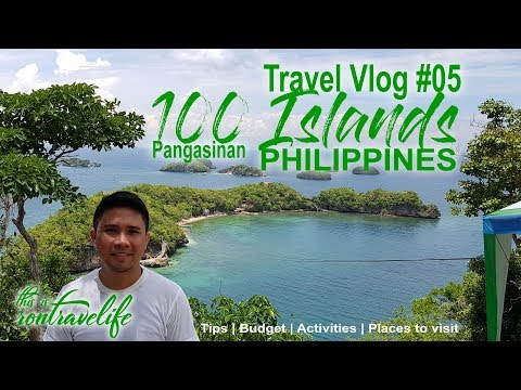 Travel Vlog #5 100 Islands Alaminos Pangasinan Philippines   Solo DIY Travel   with Budget & Tips
