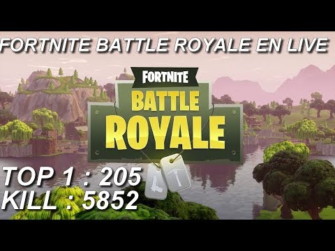 [FR/PC/LIVE] Fortnite  en solo 205 wins!