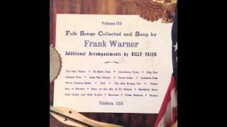 Frank Warner sings Blackjack Davy