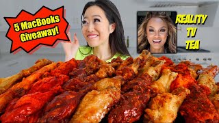 EVERY FLAVOR FROM WINGSTOP | FRIED CHICKEN WING MUKBANG