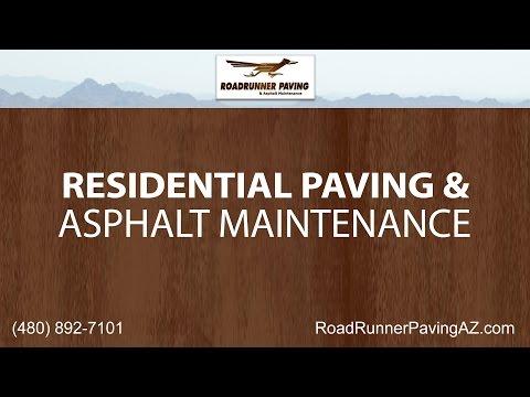 Residential Paving and Asphalt Maintenance Services | Roadrunner Paving