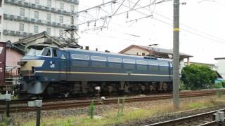 【サービス警笛あり】2078レEF66-27牽引 安城発車