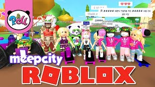 ROBLOKS GATHERING at the castle in ILI CITY/Greetings subscribers/contest/ROBLOX MEEP CITY